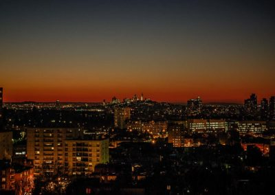 Montmartre by night vu des Lilas©JulienBarret