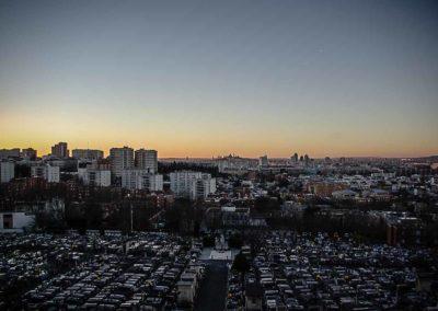 Coucher de soleil sur Montmartre©JulienBarret