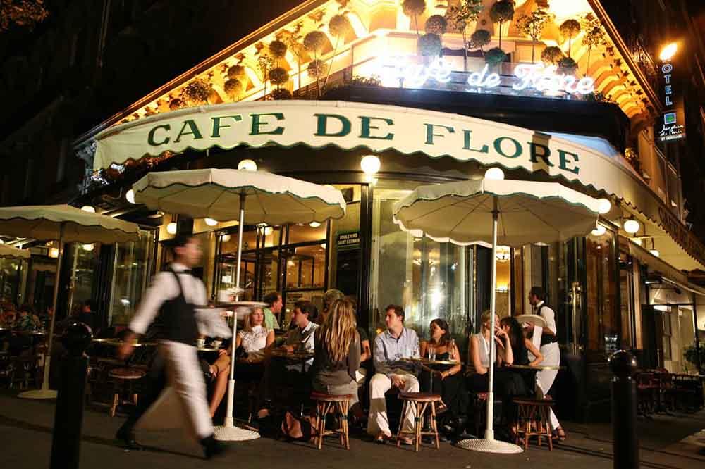 La terrasse du Café de Flore @DR