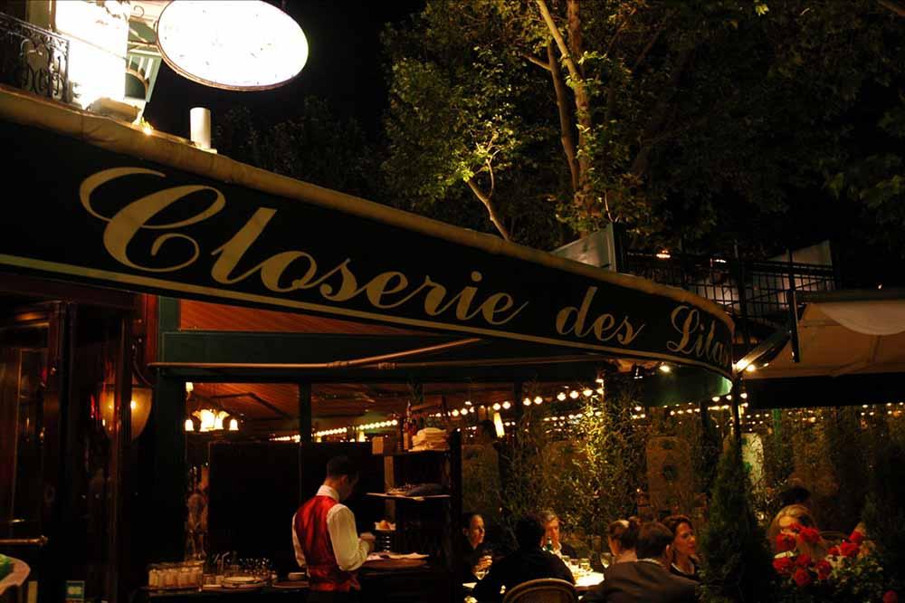 La terrasse de la Closerie des Lilas ©DR