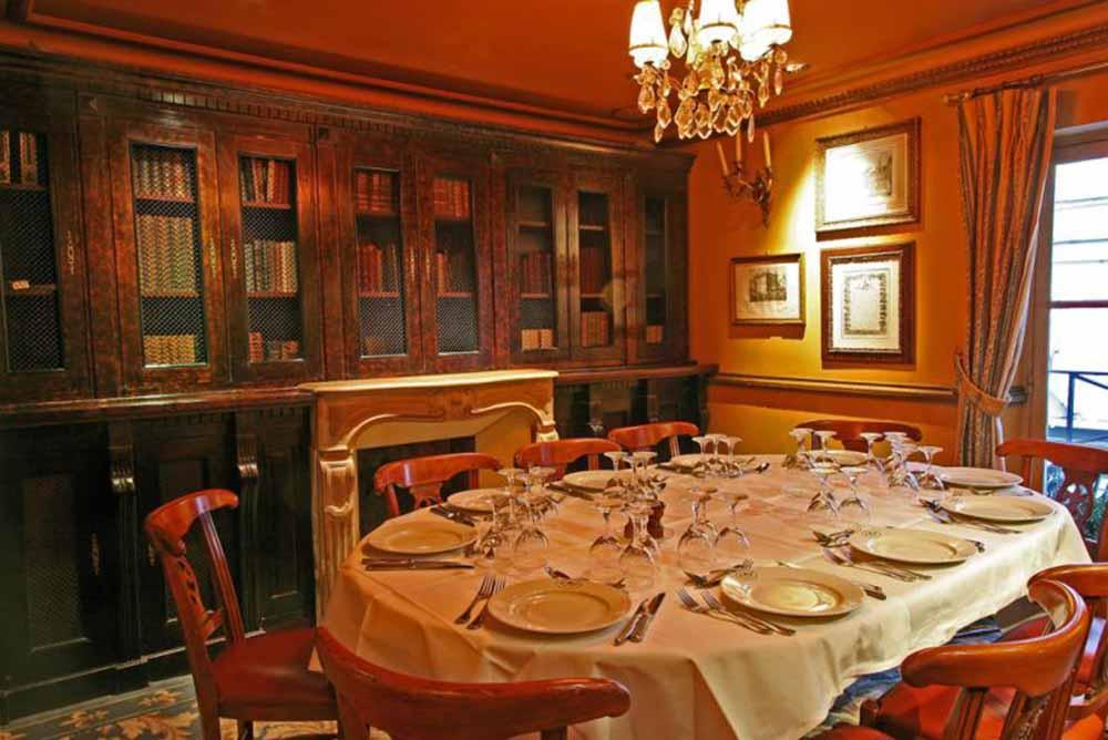 Salle de restaurant du Procope @DR