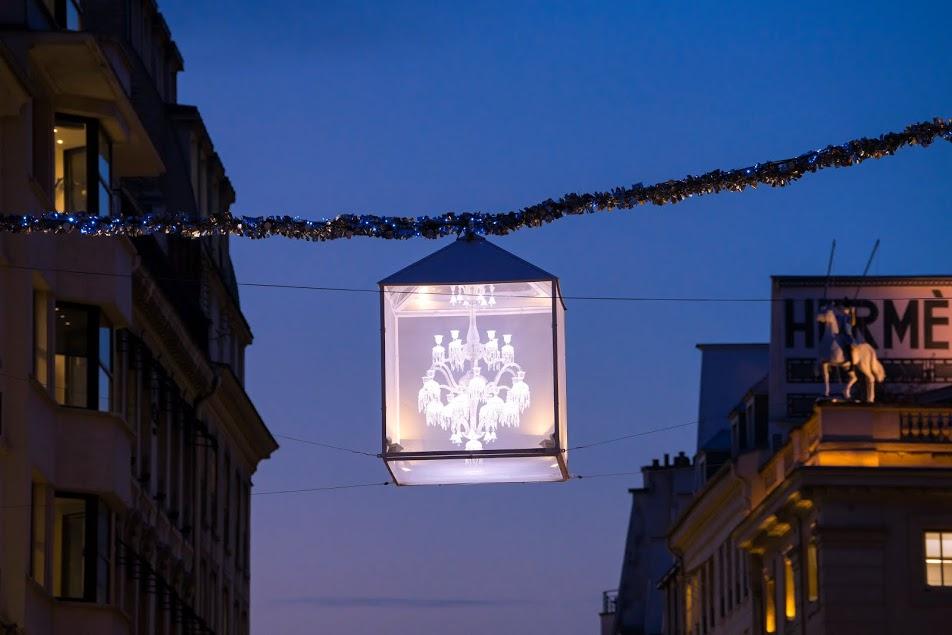 Baccarat illumine le faubourg Saint-Honoré-5 ©Laurent Parrault