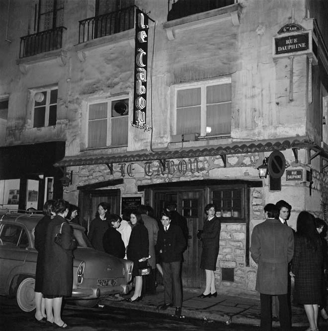 Le Tabou, rue Dauphine, 1963 © Roger-Viollet
