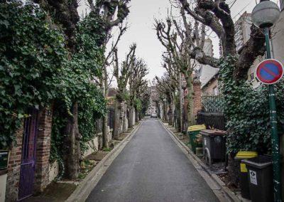 Les venelles tranquilles du pré Saint Gervais