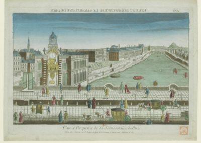 Vue et Perspective de la Samaritaine de Paris. N° 62 - [estampe] 1805