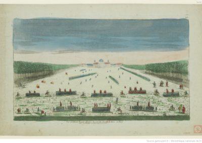 Vue de l'Ecole Royale Militaire du côté du Champ de Mars, à Paris. 23 - [estampe]