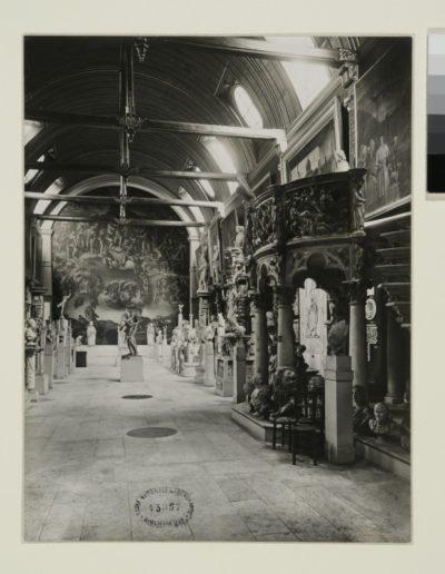 Anonyme, L'Eglise des Petits-Augustins à l'Ecole des beaux-arts (1929)