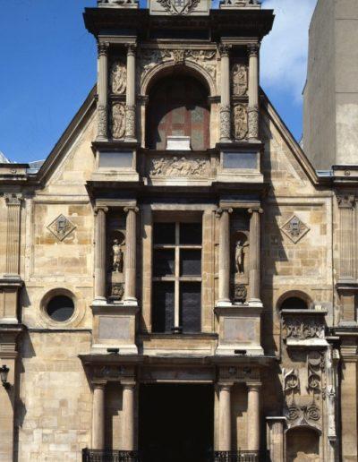 La façade de la chapelle © ENSBA Paris