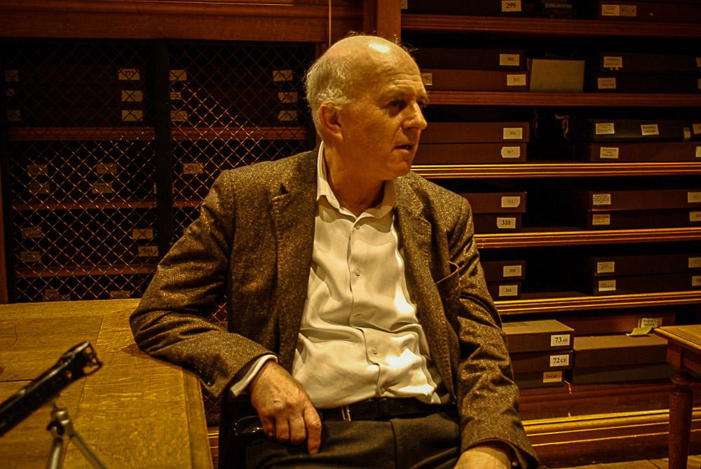 Emmanuel Schwartz, conservateur aux Beaux arts, par Julien Barret