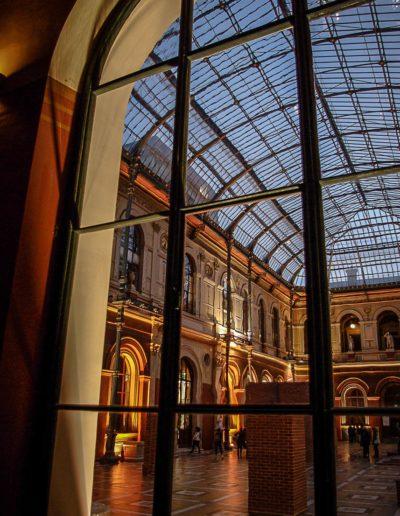 Vue du palais des études par J Barret