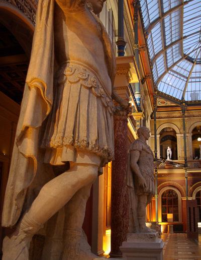 statues du palais des études des Beaux arts par J Barret