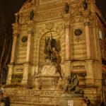 la fontaine Saint Michel par J. Barret