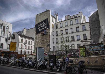 la contre terrasse de la place Fréhel par J Barret