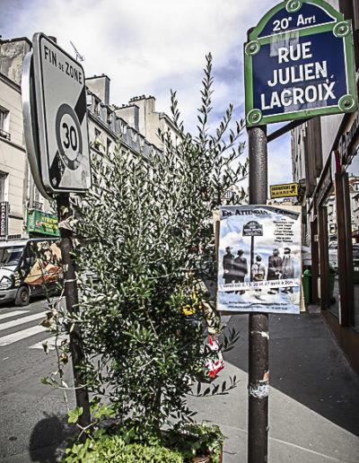 plaque rue J Lacroix par Julien Barret