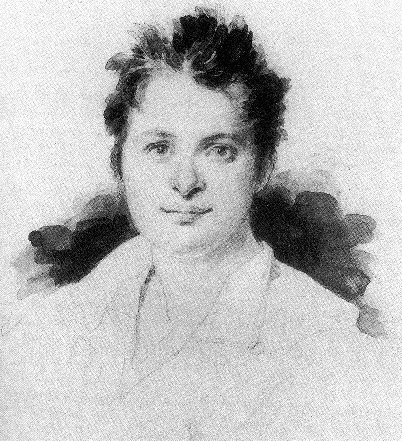 Balzac dans les années 1820. Portrait attribué à Achille Devéria