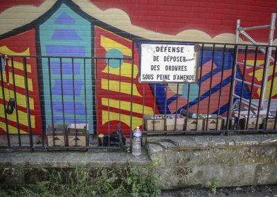 défense de déposer des ordures par J Barret