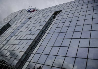 immeuble vitré TF1 ©J Barret