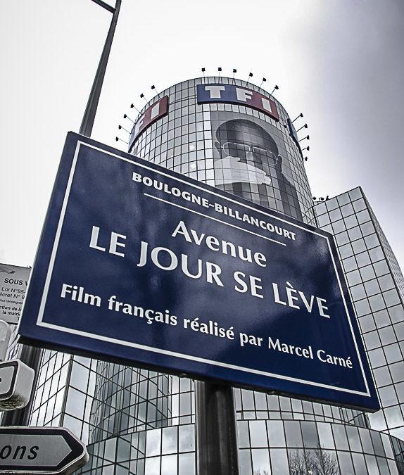 La porte du Point-du-Jour, en aval de la Seine