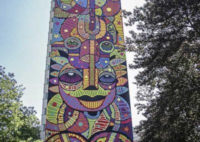 le mur de Da Cruz par J Barret