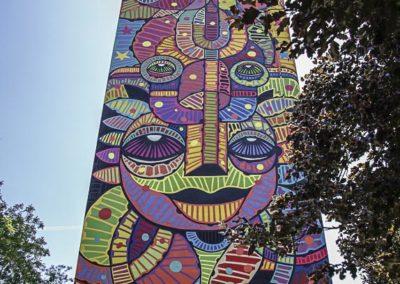 le plus haut mur de Da Cruz par JBarret