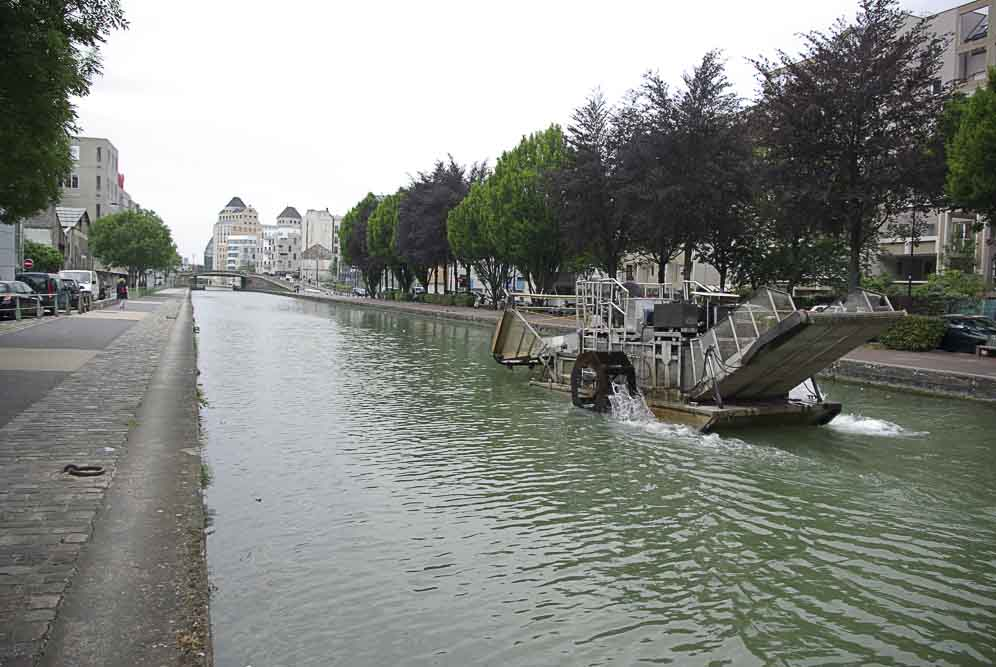 ofni sur le canal vers les moulins de Pantin par J Barret