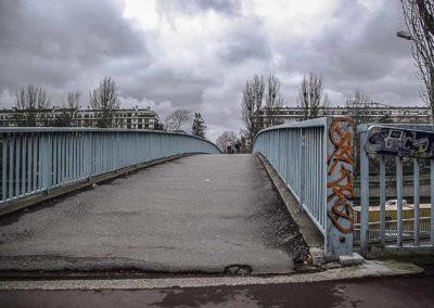 passerelle du périph porte de st cloud ©J Barret