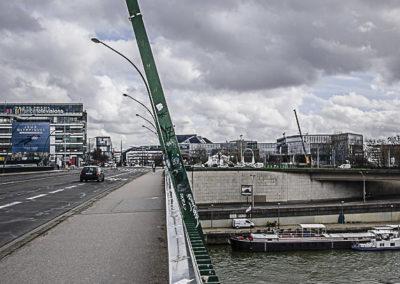 pont du garigliano vers le 15e ©J Barret