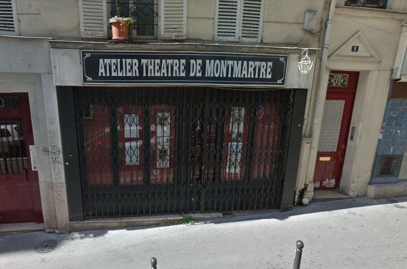 Atelier théâtre de Montmartre - capture Google view