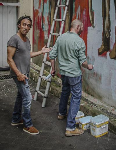 Flokicol présente Philippe Hérard rue des Couronnes par J Barret