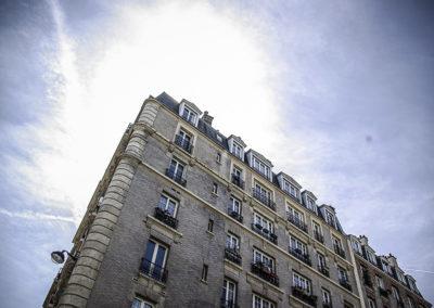 Immeuble de la rue O de Serres par J Barret