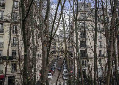 Rue Lafond de la petite ceinture ©J Barret