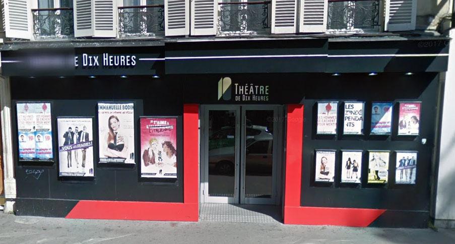 Théâtre de dix heures - capture Google View