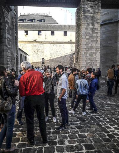 Performance Turbulence de Tatiana Julien au château de Vincennes le 22 juin 2018 par J.Barret-11