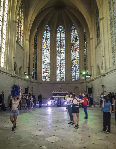 Performance Turbulence de Tatiana Julien au château de Vincennes le 22 juin 2018 par J.Barret-23
