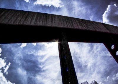 Vue du pont de l'avenue Jean Jaurès à Drancy par J.Barret-10