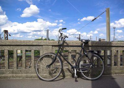 Vue du pont de l'avenue Jean Jaurès à Drancy par J.Barret-15