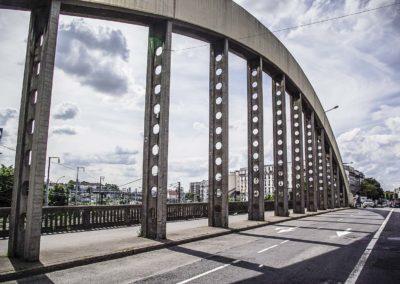Vue du pont de l'avenue Jean Jaurès à Drancy par J.Barret-18