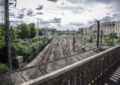 Vue du pont de l'avenue Jean Jaurès à Drancy par J.Barret-20