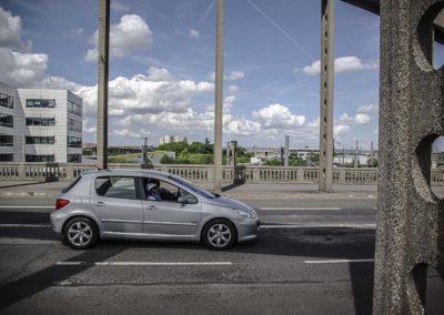 Vue du pont de l'avenue Jean Jaurès à Drancy par J.Barret-25