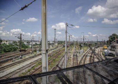 Vue du pont de l'avenue Jean Jaurès à Drancy par J.Barret-6