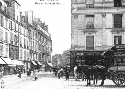 La Place Passy vers 1900 @ Parimagine