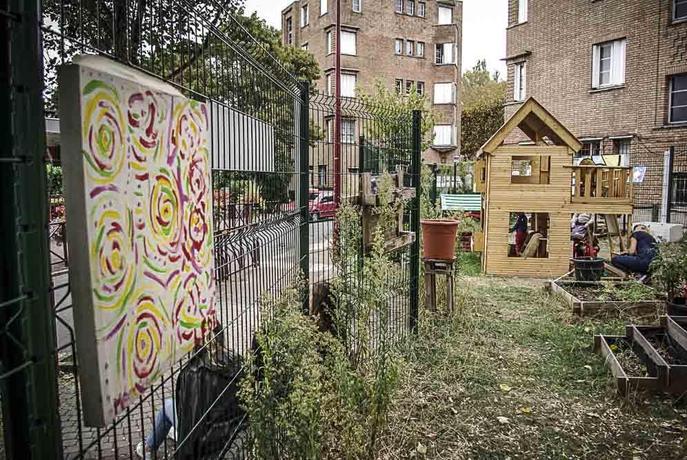jardins partagés de l'asso 4bis ©J.Barret