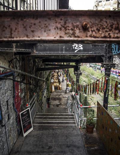 l'escalier du Hasard Ludique 2 par J Barret