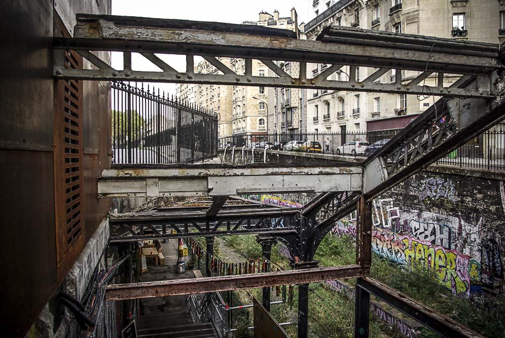 l'escalier du Hasard Ludique par J Barret