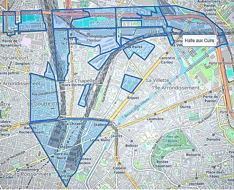 capture d'un document PDF du site  Imaginons Paris