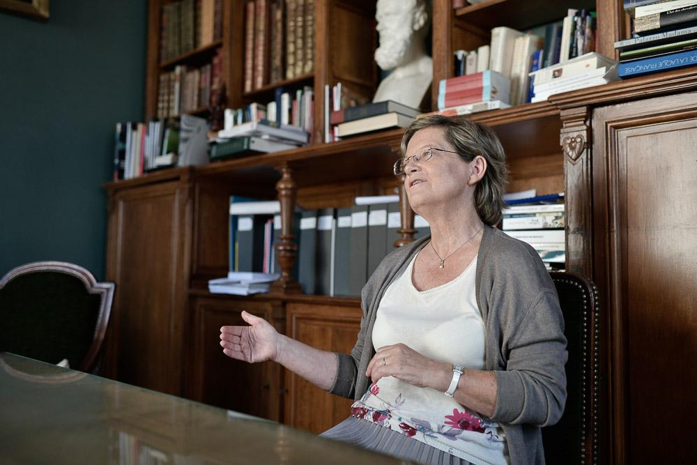Élisabeth Taburet-Delahaye, directrice du Musee de Cluny - Photo Nicolas MARQUES