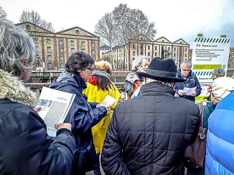 Dérive en territoire situationniste organisée le 26 janvier 2019 par Anne-Marie Morice et Les Promenades urbaines (2)