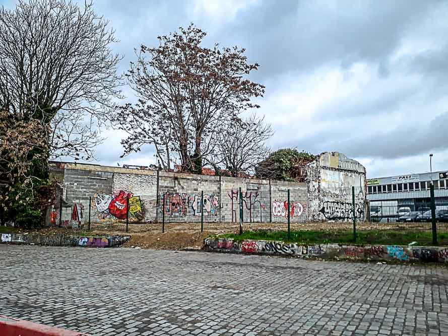 Dérive en territoire situationniste organisée le 26 janvier 2019 par Anne-Marie Morice et Les Promenades urbaines-2
