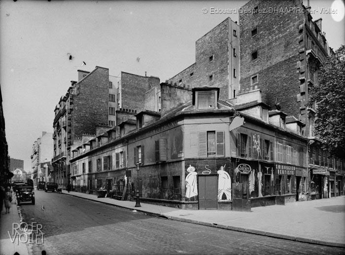 Angle rue Campagne-Première et boulevard du Montparnasse © Edouard Desprez DHAAP Roger-Viollet