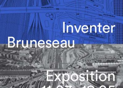expo quartier Bruneseau au Pavillon de l'Arsenal